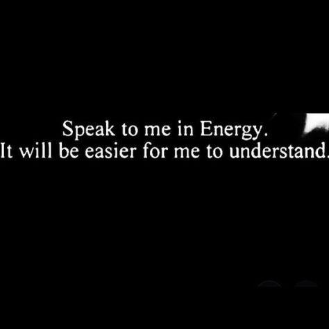 Speaktomeinenergy